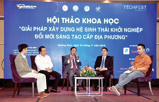 Quảng Nam: Tiếp tục thúc đẩy và lan tỏa tinh thần khởi nghiệp